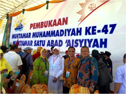 Foto: Di antara peserta, peninjau dan penggembirs Muktamar pada pembukaan kemarin ( Foto: Dok)
